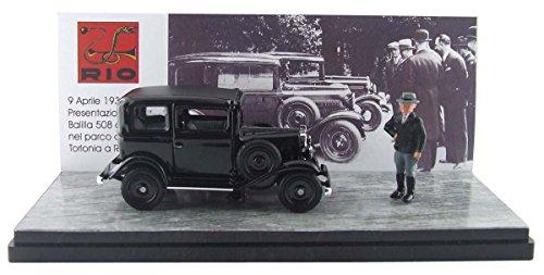 1/43 フィアット バリラ 1932 Villa Torlonia ムッソリーニフィギュア付 4438P
