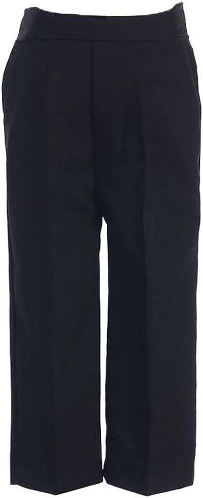 Boys Long Pleated Pants