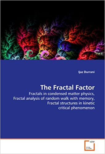 Book The Fractal Factor: Fractals in condensed matter physics, Fractal analysis of random walk with memory, Fractal structures in kinetic critical phenomenon