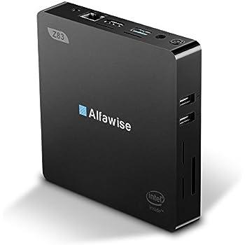Mini PC Windows 10, 2GB/32GB Intel Atom x5-Z8350(2M Cache, up to 1.92 GHz),HD Graphics 400,4K/1000M LAN/2.4G+5.8G WIFI/BT4.0, Support Windows 10