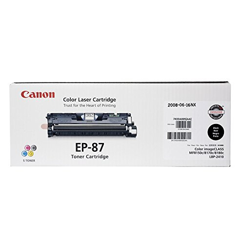 Canon Original EP-87 Toner Cartridge - Black (Black Ep87bk Toner)
