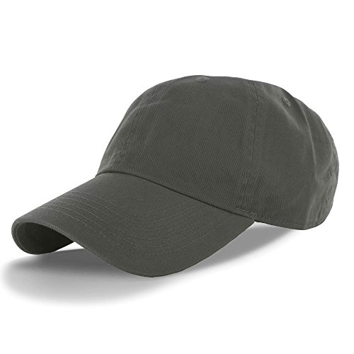 Olive_(US Seller)Cotton Plain Solid Polo Style Baseball Ball Cap Hat