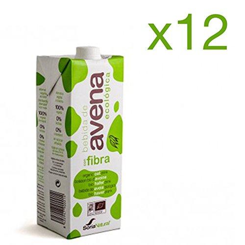 Pack 12 ud BEBIDA DE AVENA BIO ecológica 1 litro SORIA NATURAL ...