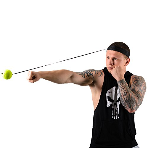 Fight Ball Reflex, Punch Exercise for Boxing, MMA and ...