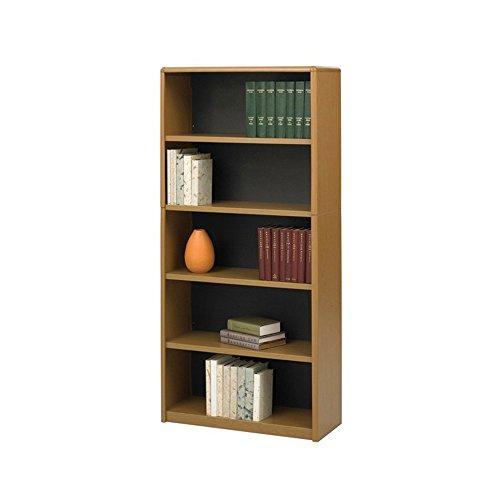 (5-Shelf ValueMate Economy Bookcase - Medium Oak electronic consumers)