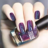 Generic Holographic Chameleon Nail Polish Shiny Purple Nail Art Varnish Polish