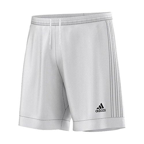 Adidas Replica Shorts (adidas Performance Men's Tastigo Shorts, Small, White/White)