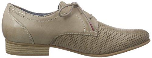 Tamaris 23211 - Zapatos de cordones derby Mujer Marrón - Braun (PEPPER 324)