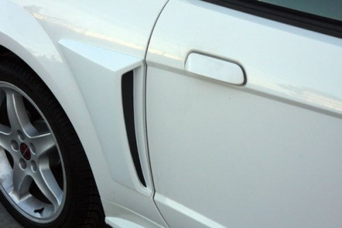 Mustang Xenon Side Scoops - Xenon 12720 Body C-Scoop Kit Incl. Left/Right Urethane Body C-Scoop Kit