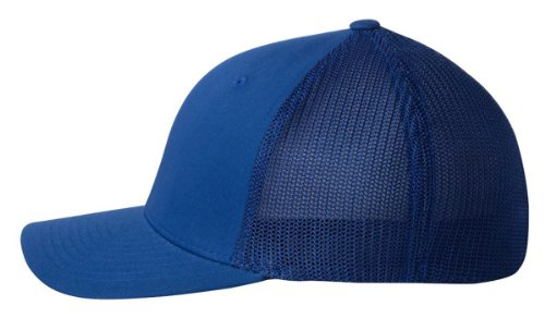 Flexfit Trucker Cap. 6511 - Royal - One Size