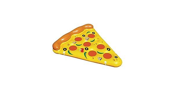 ZHANGJIANJUN Pizza Hinchable de 180cm de Natación flotadores ...