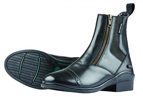 (Dublin Evolution Double Zip Front Paddock Boots Black Ladies 9 )