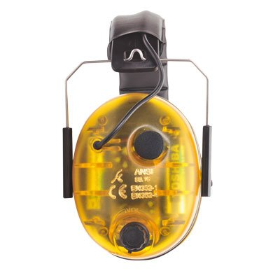 Portwest PW45YER Electronic Ear Muffs - Yellow by Portwest