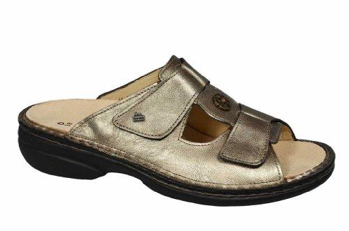 Finn comfort 2558-396025, pattaya pantolette femme-canne bronze/café