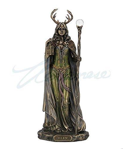 Elen of the Ways – Antlered Goddess of the Forrest Statue Sculpture Figure