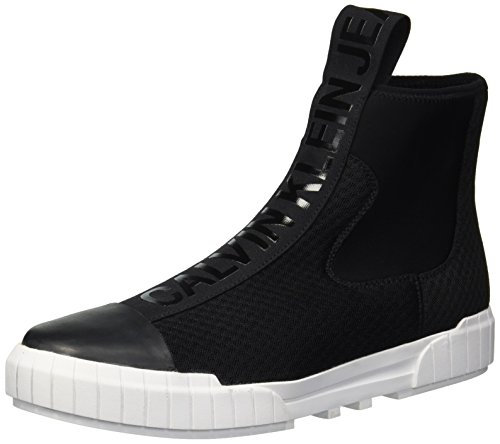 Jeans Klein S1738 Nero Uomo Mesh Scarpe Calvin Sneakers Lycra Elastic Bardo w5gqxgd68