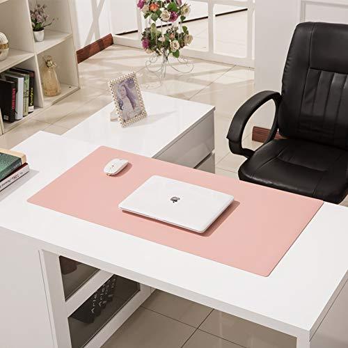 CNZXCO Multifunctional Office Desk Pad,Office Desk Mat,Pu Leather Desk Blotter Keyboard Mouse Mat 30x50cm(12x20inch…
