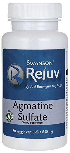 Agmatine Sulfate 650 mg Veg 60 gelules