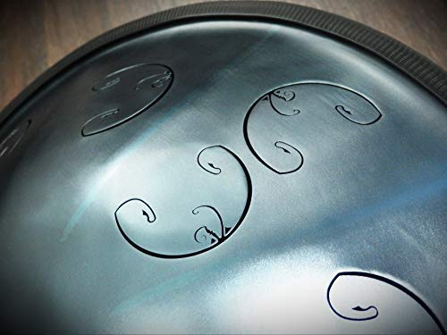 NEW (updated)! Tongue Hand Pan/RAV Vast 2 / B Celtic Double Ding / (in case) (Steel Drum/Hand Pan/Tank Drum)