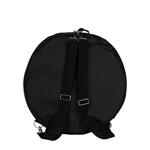 MagiDeal Black 14'' Snare Drum Kit Bag with Portable Shoulder Straps & Side Pocket by MagiDeal