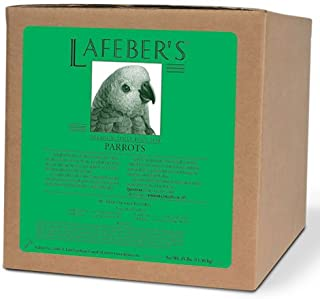 product image for LAFEBER'S Premium Daily Diet or Gourmet Fruit Pellets Pet Bird Food, Made with Non-GMO and Human-Grade Ingredients, for Parrots