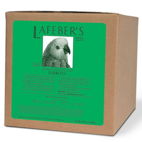 (LAFEBER'S Premium Daily Diet Pellets Pet Bird Food, Made with Non-GMO and Human-Grade Ingredients, for Parrots (25)