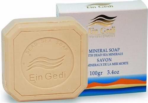Ein Gedi Dead Sea White Collection Mineral Soap 100gr - Dead Ein Sea Gedi