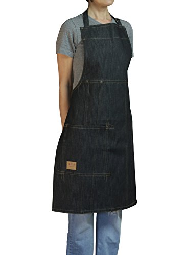 (ASD Living Vintage Draper Denim Adult Butcher Apron)