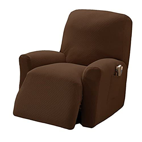 Exceptionnel Stretch Sensations Crossroads Recliner Stretch Slipcover, Cocoa