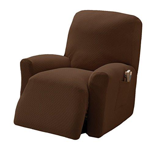 stretch sensations crossroads recliner stretch slipcover cocoa buy online in uae kitchen. Black Bedroom Furniture Sets. Home Design Ideas