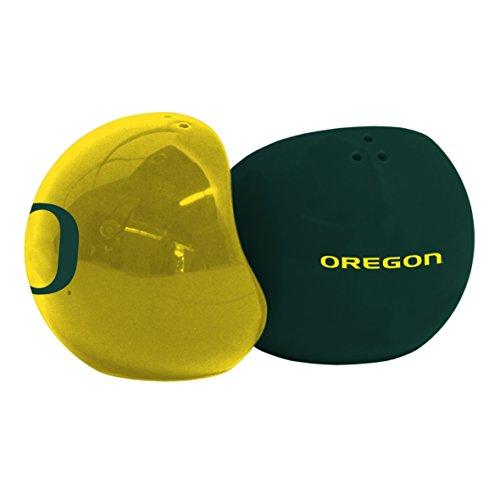 (NCAA Oregon Ducks Sculpted Home and Away Salt & Pepper Shakers)
