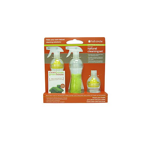 Full Circle FC10111 Natural Cleaning Spray Bottle Set