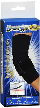 Sport Aid Gold ThermaDry Tennis Elbow Sleeve MD - 1 ea, Pack of 4 by SportAid