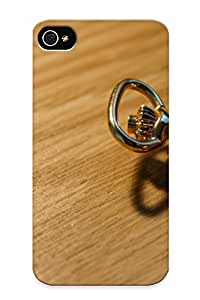 New Pocket Watch Time Clock Bokeh Tpu Case Cover, Anti-scratch Rightcorner Phone Case For Iphone 4/4s