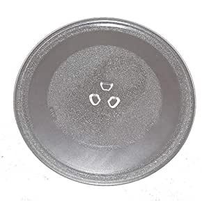 Plato de cristal giratorio para microondas compatible con ...