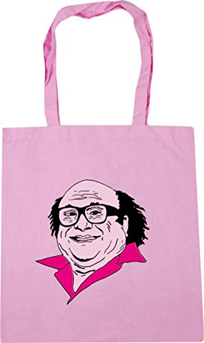 Frank x38cm Gym Bag Illustration Tote Classic 10 Beach Pink 42cm litres HippoWarehouse Shopping pg8Uq4nqd