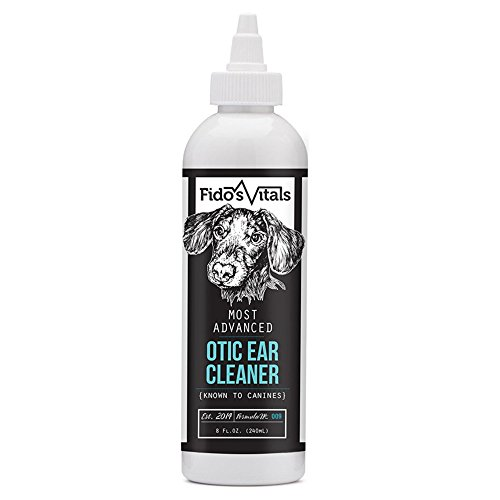 Advanced Ear Cleaner for Dogs and Cats. Effective against infections caused by bacteria, fungus and yeast. Cleans, dries and alleviates itching. 8 oz. (8 oz)