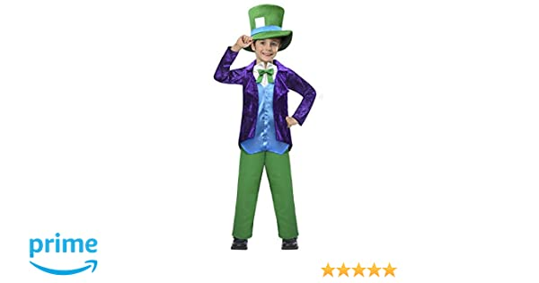 Top Hatter Costume - Age 5-6 Years: Amazon.es: Ropa y accesorios
