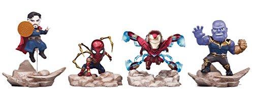 Beast Kingdom Avengers: Infinity War: MEA-003 Mini Egg Attack Series 8-Piece Figure Set