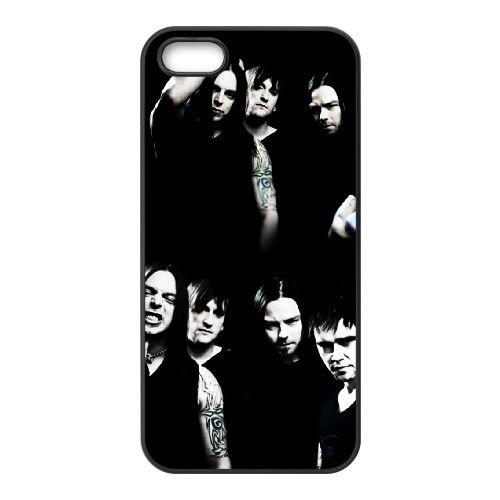 Bullet For My Valentine 012 coque iPhone 5 5S cellulaire cas coque de téléphone cas téléphone cellulaire noir couvercle EOKXLLNCD22590