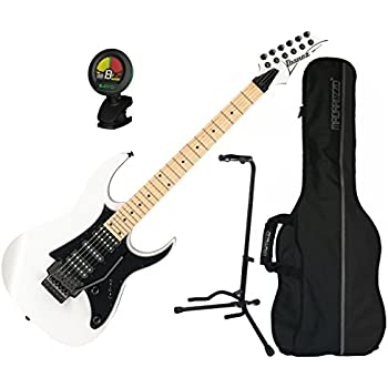 ibanez rg series rg450mb white electric guitar w gig bag stand and tuner musical. Black Bedroom Furniture Sets. Home Design Ideas