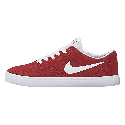 410 Nike SB Men's Check 843895 Rot Shoe Solarsoft Skateboarding Hwxpqc
