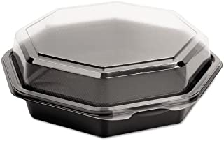 product image for OctaView CF Containers, Black/Clear, 21oz, 7.94w x 7.48d x 2.36h, 100/Carton