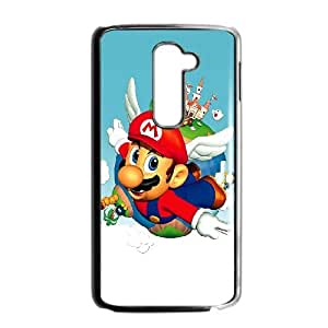 LG G2 Cell Phone Case Black Super Mario Bros hivx