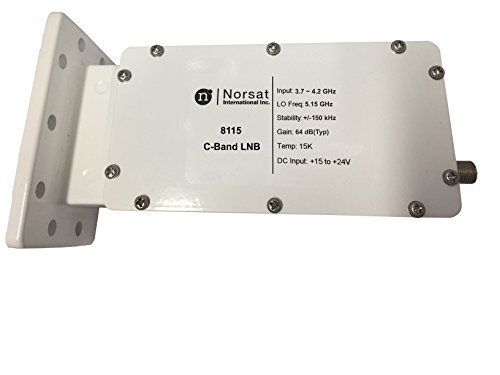 Used, Norsat LNB 8115F C-Band DRO for sale  Delivered anywhere in USA