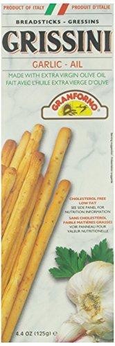 Breadsticks Granforno (Granforno Grissini Breadsticks, Garlic, 4.4 oz Boxes by Granforno)