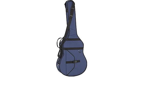 FUNDA GUITARRA REF. 34 C.B. AZUL: Amazon.es: Instrumentos musicales