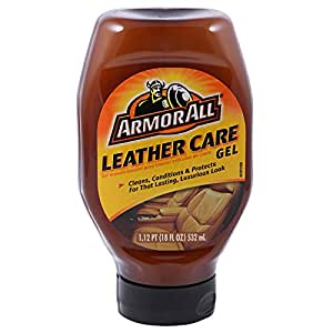 Armor All Leather Care Gel - 20 Oz - Brown