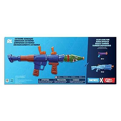 NERF Fortnite Rl Super Soaker Water Blaster: Toys & Games