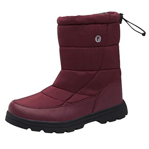 QBQCBB Women's Snow Boots Winter Ankle Short